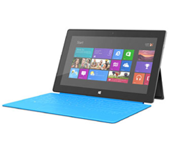 Windows'un RT ile Microsoft Surface